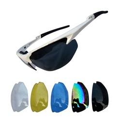 MyXL Fietsbril met Gekleurde Glazen Als Deel van Set