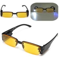 MyXL Nachtbril Op Sterkte Met Lampjes