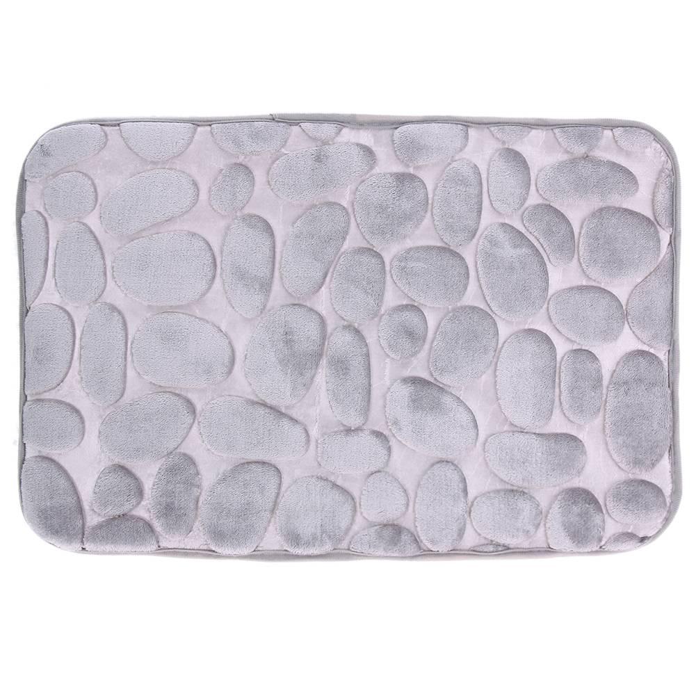 afbeelding van grijs badkamer tapijt comfortabele deur mat keuken badkamer wc wc mat antislip flanel niet