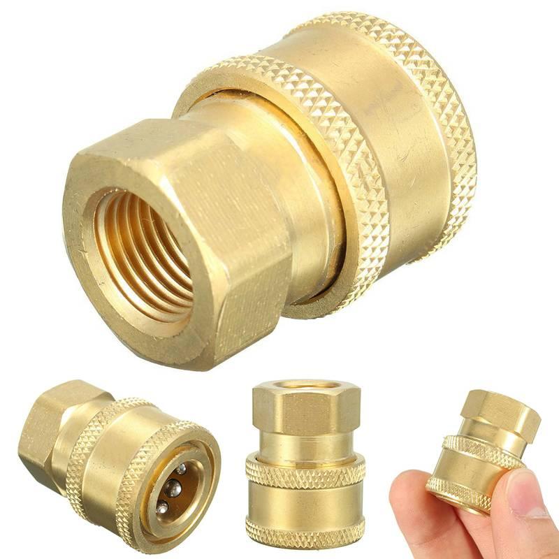 1-4 ''Snelsluiting Hogedrukreiniger Slang Adapter Connector Plug Om BSP1-4 Vrouwelijke