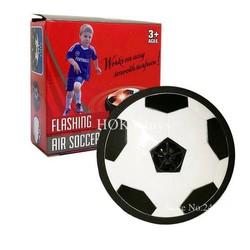 MyXL 11 cm Air Power Voetbal Disc Indoor Voetbal Speelgoed Kleurrijke Licht Knipperende Bal Speelgoed kids sport game kinderen Educatief