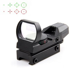MyXL 20mm Rail Riflescope Hunting Optics Holografische Red Dot Sight Reflex 4 Reticle Tactical Scope Jacht Pistool Accessoires