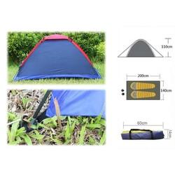 MyXL Twee Persoon Waterbestendigheid Outdoor Camping Tent Kit Professionele Fiberglass Pole Tent Met Draagtas Voor Wandelen Reizen
