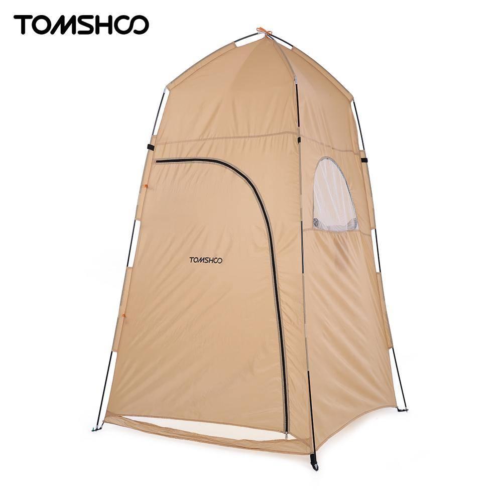 TOMSHOO 120*120*210 cm Outdoor Onderdak Camping Douche Bad Tent Strand Tent Vissen Douche Outdoor Camping Douche Tent