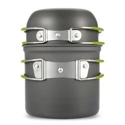 MyXL Ultralight Outdoor Camping Kookgerei Gebruiksvoorwerpen Wandelen Picknick Backpacken Servies Pot Pan 1-2persons non-stick Pot Pannen Kommen