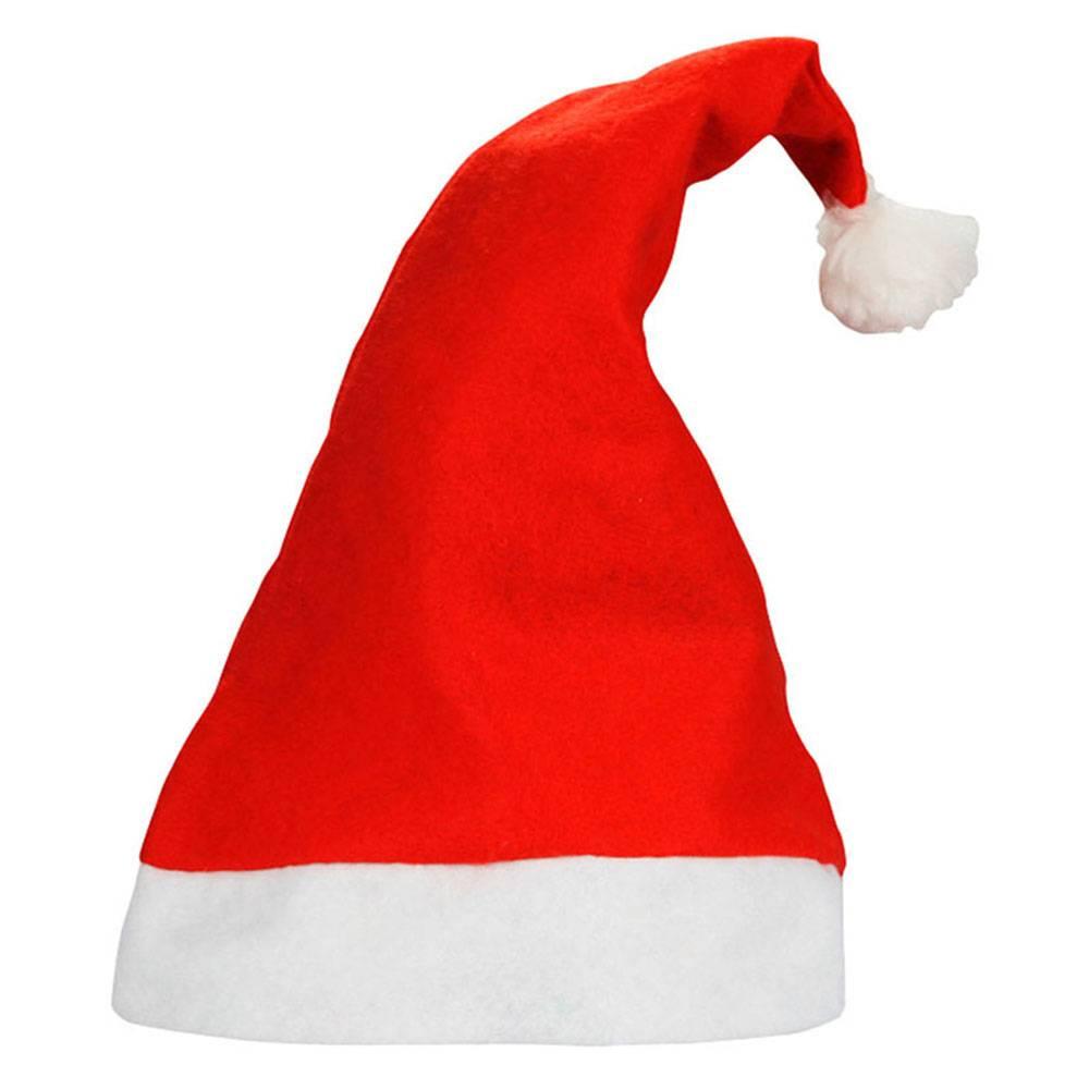 1 StksKerst Hoed Decoratie Kerst Cap Santa Elf Kostuum Accessoire Xmas Party Hoed