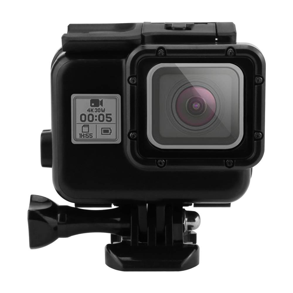SCHIETEN 45 m Waterdichte Case voor Gopro Hero 6 5 Black Action Camera Onderwater Gaan Pro 5 Bescher