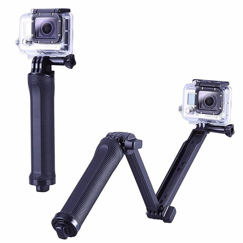 Gopro Accessoires 3 manier Grip Arm Statief Monopod Mount Voor Sport Action Camera Hero 4 3 3 + xiao