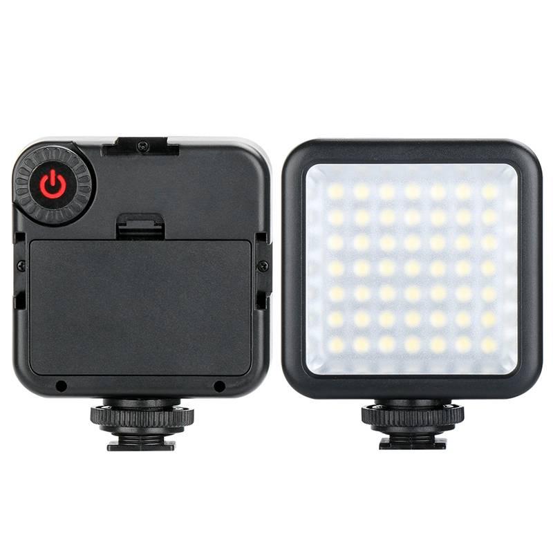 Ulanzi Pocket Mini Camera LED Video Light 6000 K Fotografische Night Vullen led Verlichting w 3Shoe