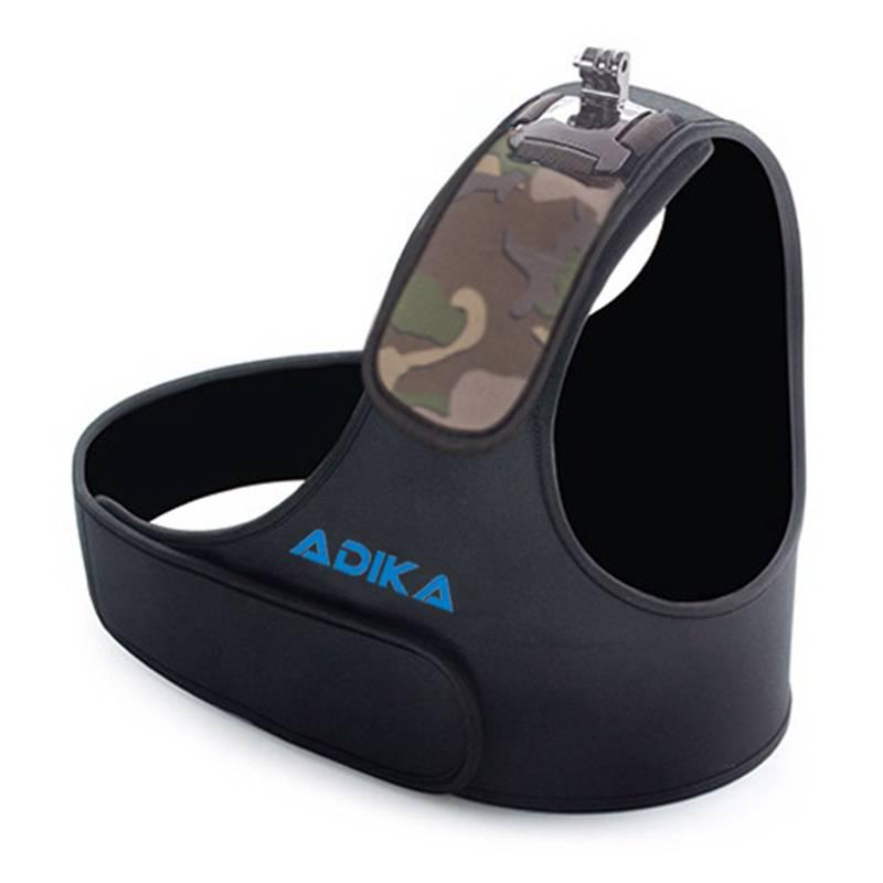 Gopro action camera camouflage schouderriem mount voor go pro hero 4 3 2 sj4000 sjcam sport chest be