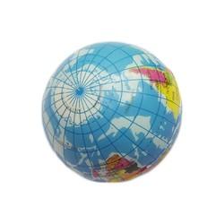 MyXL 1 St Soft Foam Rubber Bal Speelgoed Wereldkaart Aarde Globe Hand Pols Oefening Stress Squeeze