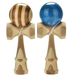 MyXL Professionele Bamboe Kendama Speelgoed Bamboe Kendama Bekwame Jongleren Bal Speelgoed Voor Kinderen Volwassen Kleuren Willekeurige Kerst Speelgoed
