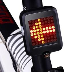 MyXL Fietslicht Automatische Richting Indicator Achterlicht USB Opladen Mtb Veiligheid Waarschuwingslampje