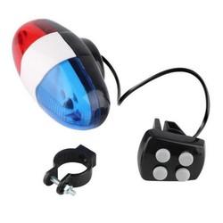MyXL Fiets Fietsen 4 Sounds 6 LED Politieauto Sirene Elektrische Horn Bell