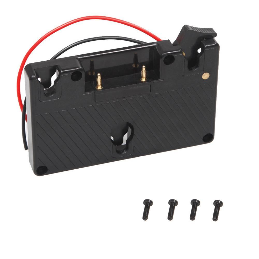 Gold mount batterij camera adapter plaat voor panasonic camcorder power b-tap anton bauer batterij