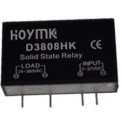 MyXL Q00132 PCB Gewijd met Pins SSR-D3808HK 8A DC-AC Solid State Relais SSR D3808HK