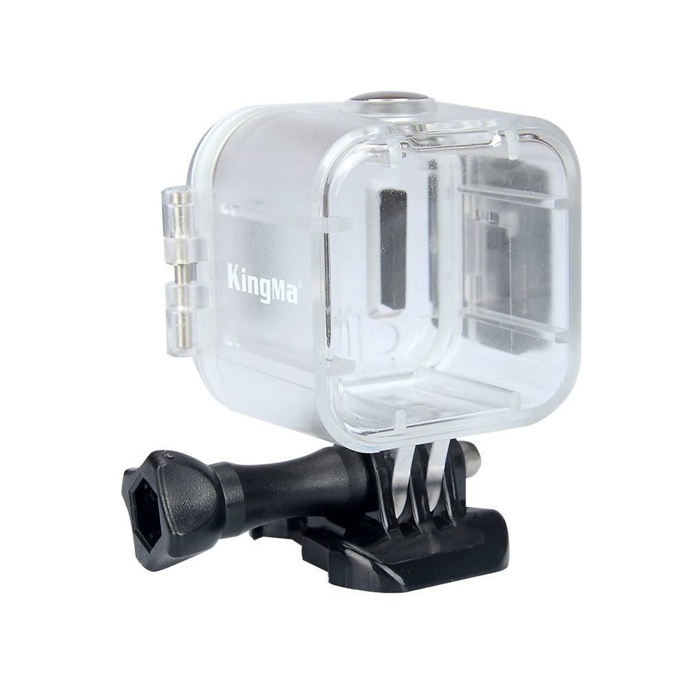 Kingmawaterdichte case accessoire voor polaroid kubus en cube + action video camera onderwater 45 m