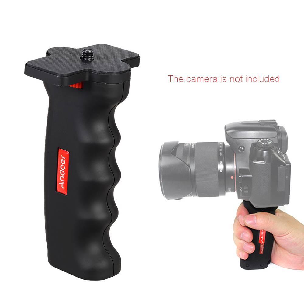 Andoer Mini Universele Handheld Stabilizer voor Gopro Sony Xiaomi Action Camera Statief Monopod Grip