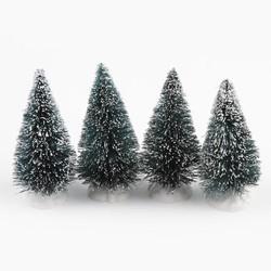 MyXL Mini Kerstboom Decoraties, 50 stks Kerstboom Een Kleine Pijnboom. Geplaatst In De Desktop Mini Kerst boom,