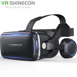 MyXL Vritual Werkelijkheid Shinecon 6.0 Bluetooth Headset VR Bril Helm 3D Box Voor 4.5-6.0 Smartphones Met Bluetooth Controller <br />  shinecon