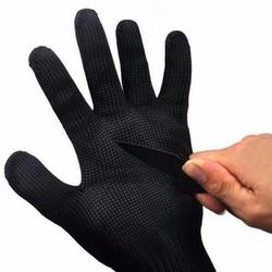 MyXL 15% Roestvrij Draad Veiligheid Snijbestendige Werk Veiligheid Beschermende Gear Handschoenen Zwart Wit Voor Tuinieren Werk Veiligheid Handschoenen <br />  MyXL