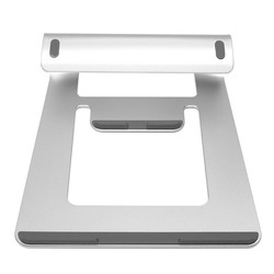 MyXL Draagbare Metalen Laptop Cooling Pad Cooler Stand Aluminium Laptop Stand Houder Dock Bureau Pad Voor MacBook Pro Air Tablet Notebook <br />  Yu yunai