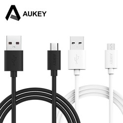 MyXL Aukey 2 m micro usb cable mobiele telefoon micro kabel usb data kabel type-een hi snelheid opladen snelle 2.4a draad voor xiaomi samsung sony <br />  AUKEY