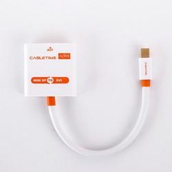 MyXL Cabletime ACTIEVE Adapter Mini DP Kabel Male DVI naar vrouwelijke Thunderbolt Mini Display Port 1.2 naar-dvi voor MacBook/Pro/Air N012 <br />  CABLETIMES