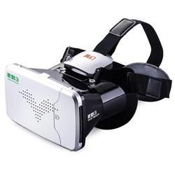 MyXL Riem 3 Virtual Reality 3D VR Glazen Hoofd Gemonteerd Headset Private Theater voor 3.5-6 inches Smartphone <br />  RITECH