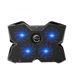 MyXL CoolCold Ice Magic 2 Koeler met 4 Stilte Fans LED USB 2.0 Laptop Cooling Pad 12 &quot;13&quot; 14 &quot;15&quot; 17 &quot;Laptop Houder <br />  COOLCOLD