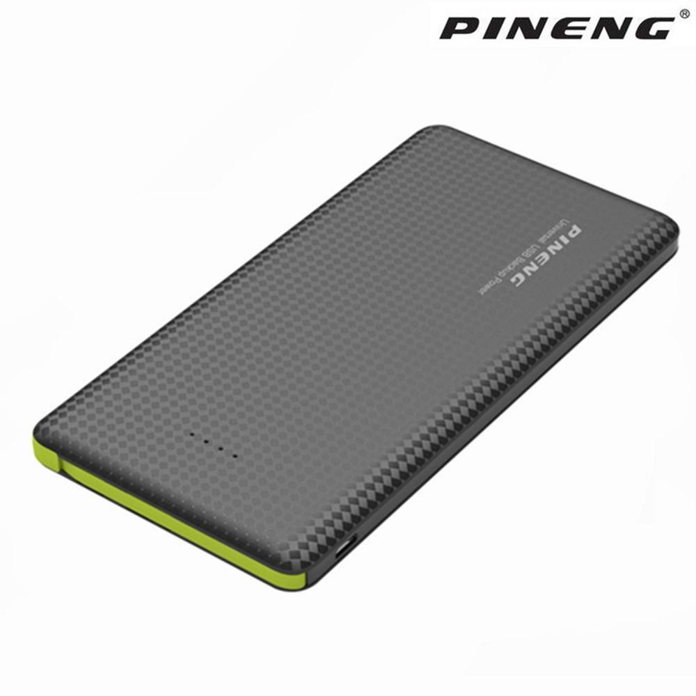 Originele Pineng PN951 Power Bank 10000 mAh USB Ingebouwde Oplaadkabel Externe Batterij Oplader voor