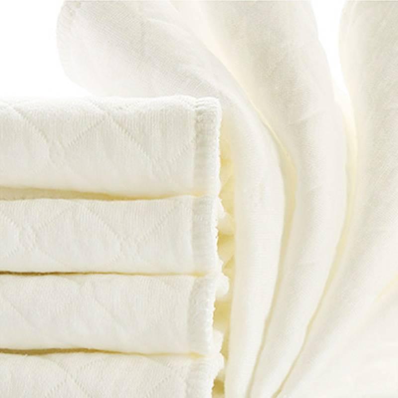 10 stks Baby herbruikbare luiers Bamboe Eco Katoen luiers nappy baby producten kinderen care inserts