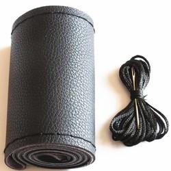MyXL DIY Stuurwiel Covers Extreem zachte Lederen braid op de stuurwiel van Auto Met Naald en Draad Interieur accessoires <br />  CARSUN