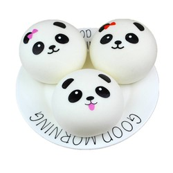 MyXL Squishy Panda Bun Squishy Trage Stijgende Crème Scented Decompressie Speelgoed Knijpen Healing Speelgoed Kawaii Kids Toy Stress Reliever Ball