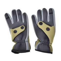 MyXL 1 Paar Antislip Neopreen Winter Vissen Handschoen Mannen Ademend Duurzaam antislip Sport Zachte Vliegvissen Handschoen