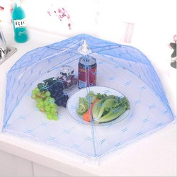 MyXL Paraplu Vouw Voedsel Tent Inklapbare Taart Netto Covers Insect Anti Fly Mosquito Voedsel Covers