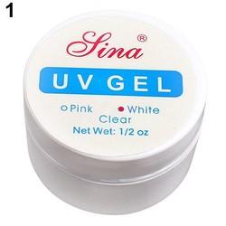 MyXL Roze Wit Clear 3 Kleuropties UV Gel Builder Gel Breiden Nail Art Tips Voor Gel Nagellak Manicure Extension <br />  MyXL