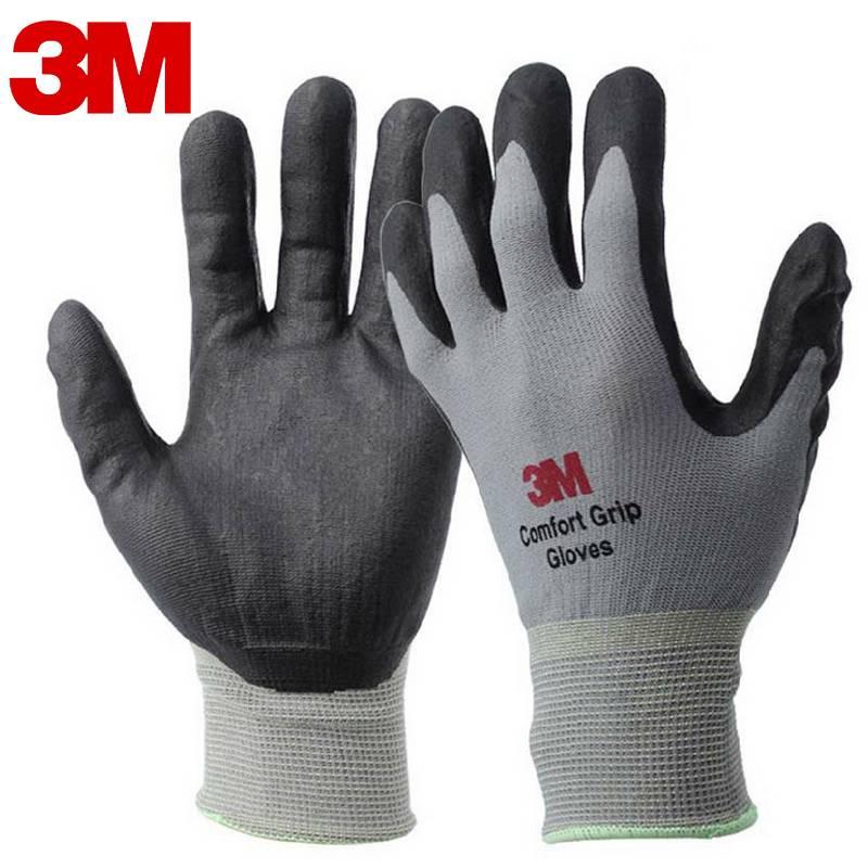 3 M Werk Handschoenen Comfort Grip slijtvaste antislip Handschoenen Anti-arbeid Handschoenen Nitril