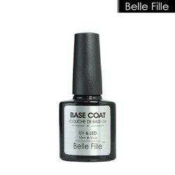 MyXL Belle Fille 10 ml Gel Nagellak Base Coat + Top Coat Polish Gel Losweken UV LED Langdurige Nagel Gel Lak <br />  BELLE FILLE