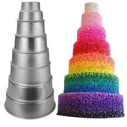 MyXL Thuis Keuken Cake Bakvorm Pan Bakvormen Tool Aluminium non-stick Ronde 2/4/6 Inch <br />  Aihogard