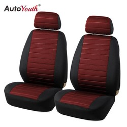 MyXL 2 STKS Auto Stoelhoezen 5 MM Foam Airbag Compatibel Universal Fit Meest Vans Minibus Gescheiden Autostoel <br />  AUTOYOUTH