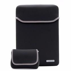 MyXL Waterbestendig Neopreen Laptop Sleeve Tas voor 11 12 13 15 inch MacBook Pro MacBook Air Notebook Met Power Adapter Zak <br />  LENTION