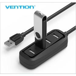 MyXL Drag High Speed 4 Port USB 2.0 Hub Usb-poort USB HUB draagbare OTG HUB USB Splitter voor Apple Macbook Air Laptop PC Tablet <br />  Vention