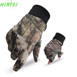 MyXL Camo Vissen Handschoenen Jacht Handschoenen Antislip 2 Vingers Cut Camping Fietsen Half Vinger Handschoenen