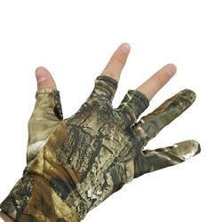 MyXL NEWBOLER Vingerloze Jacht Vissen Camo Gel Handschoen Camouflage Comfortabele Anti Slip Elastische Vissen Handschoenen Skidproof Antislip