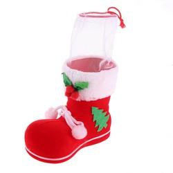 MyXL 1 stks Mini Kerst Kousen Xmas Boom Decoraties Kerst Festival Party Ornament laarzen Snoep zakkenKerst Houders