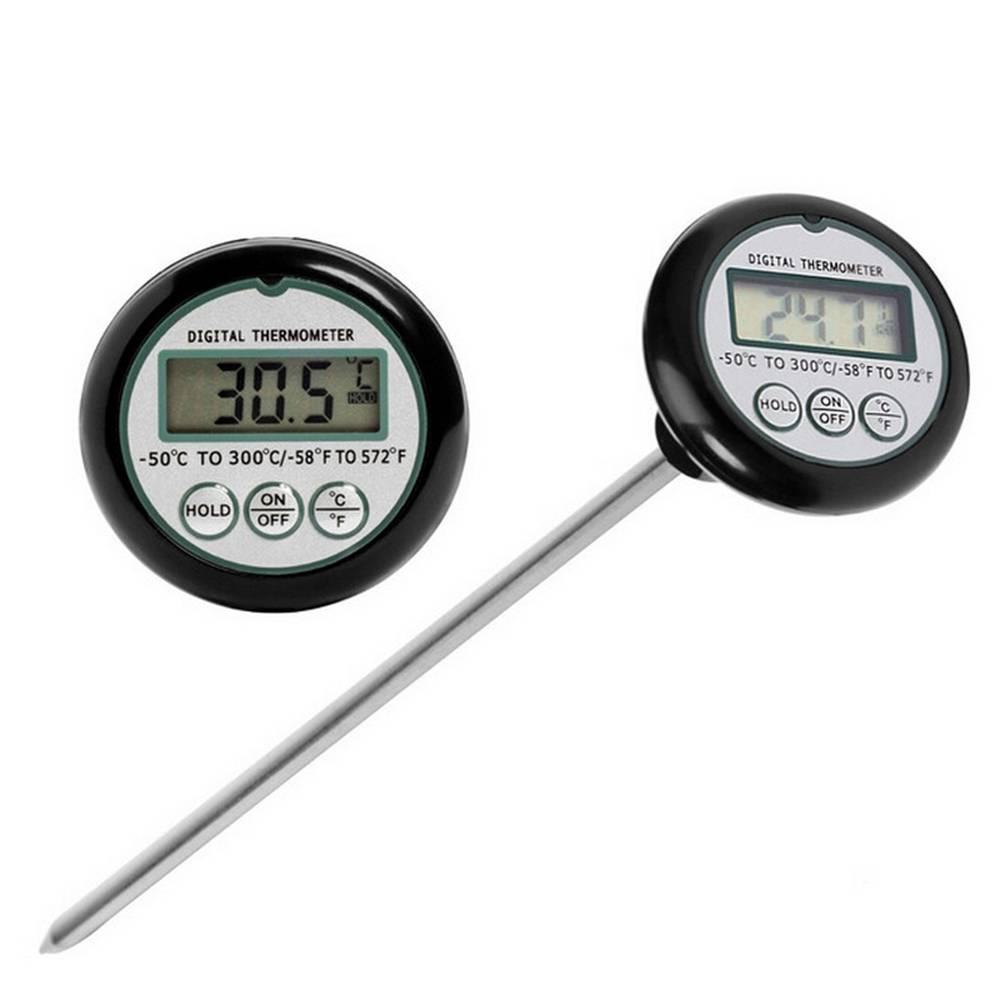 Draagbare Oven Pen Stijl Keuken Voedsel Koken Grillen Vlees BBQ Thermometer Water Melk Wijn Vloeisto