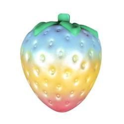 MyXL 1 ST Regenboog Aardbei Squishy Super Jumbo Scented Trage Stijgende Zeldzame Fun Speelgoed