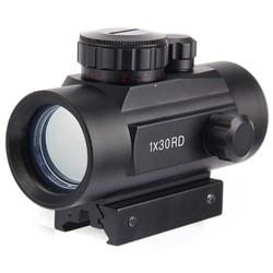 MyXL Holografische Rood Dot Riflescope Tactical 30mm Lens Sight Scope Jacht rood Groen Dot voor Shotgun Rifle 20mm Rifle Airsoft Gun