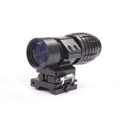 MyXL 3X Vergrootglas Scope Quick Release voor Sniper Hunting Rifle W/Picatinny 20mm Rail Flip Mount Jacht Caza